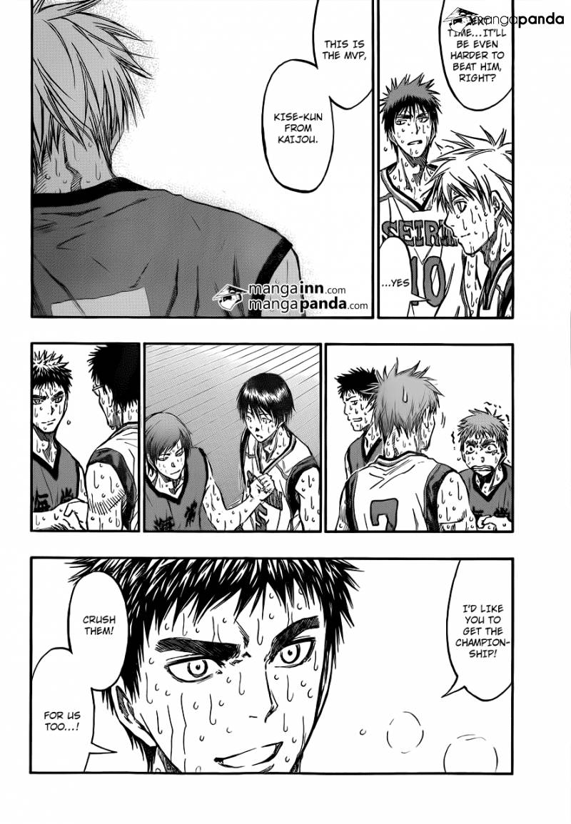 Kuroko no Basket Manga Chapter 203 - Image 08