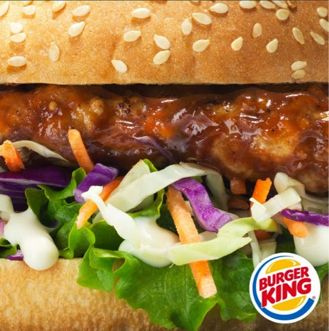 Burger King Southern Pork and Slaw