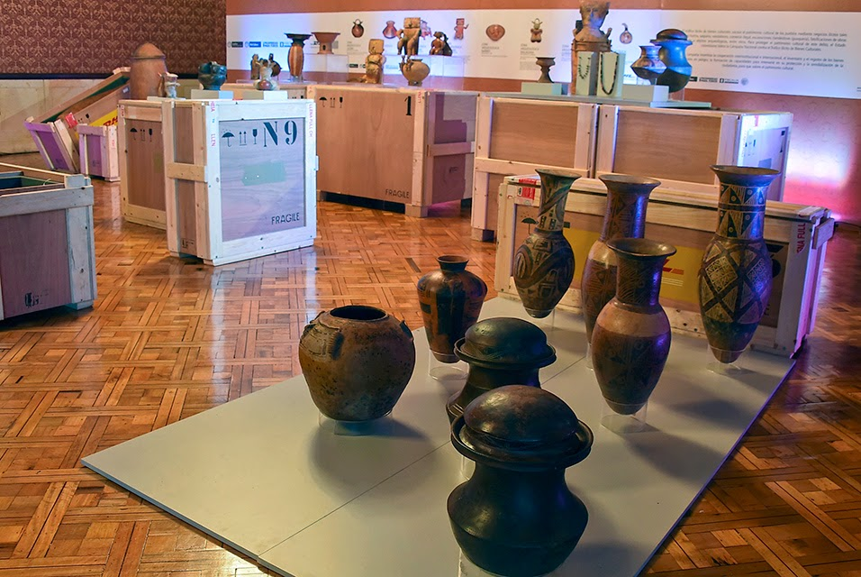 South America: Spain returns priceless trove of pre-Columbian art to Colombia