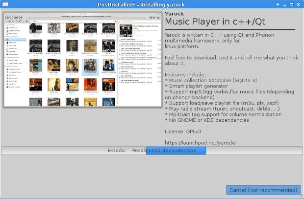 PostInstallerF Nominado como proyecto del mes Mayo 2014 - SourceForge