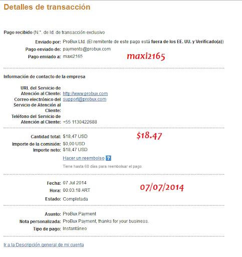 [Con Comprobante] Nuevo pago de Probux $18.47 07/07/2014 Pago%2520probux%2520%252418.47