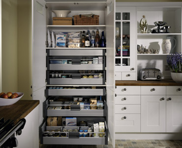larder pantry cabinets. Black Bedroom Furniture Sets. Home Design Ideas