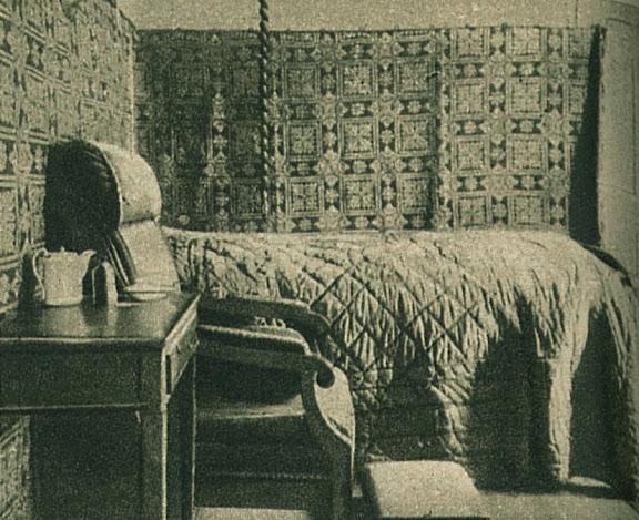 Goethe hálószobája