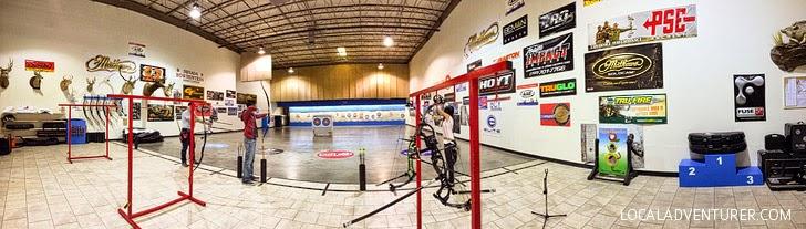 Archery Lesson at Impact Archery Las Vegas.