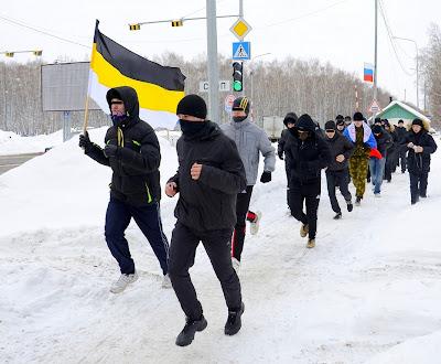 23-го февраля по всей России прошли акции здоровой молодёжи - Тюмень