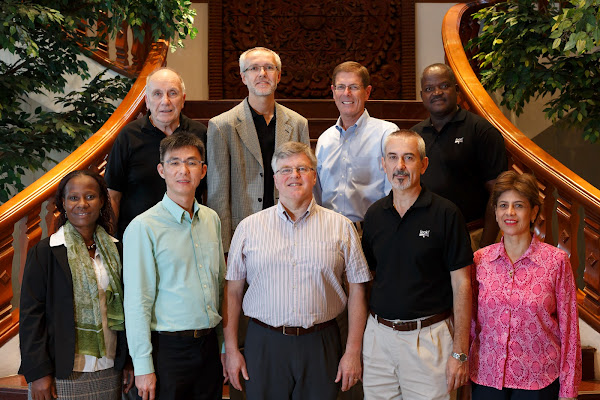 Wycliffe Global Alliance Board: 2012: Back row: John Bennett, New Zealand, Hannes Wiesmann (Vice Chairman) Switzerland, Bob Creson United States, Boureima Ouédraogo Burkina FasoFront row: Chantal Tehe-Yoa Côte d'Ivoire, Nicky Chong Singapore, Rev. Roger Welch (Chairman) United Kingdom, Decio de Carvalho Brazil, Ana Cristina Mejia El Salvador