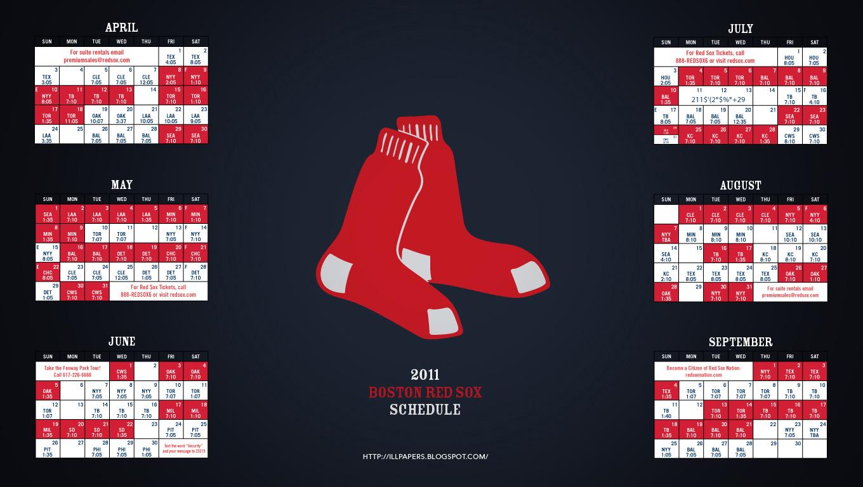 2011 Boston Red Sox Wallpaper