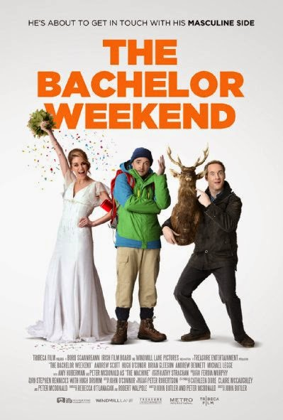 Poster Of English Movie The Bachelor Weekend (2013) Free Download Full New Hollywood Movie Watch Online At Alldownloads4u.Com