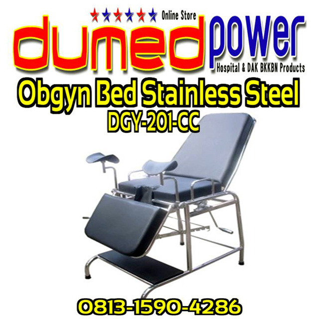 Obgyn-Bed-Stainless-Steel-DGY-201-CC-BKKBN-2013-DumedPower