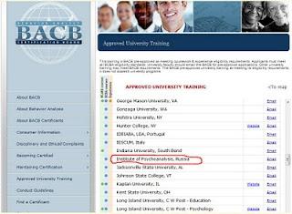 Сертификат по Прикладному Анализу Поведения АВА уже доступен и в России!