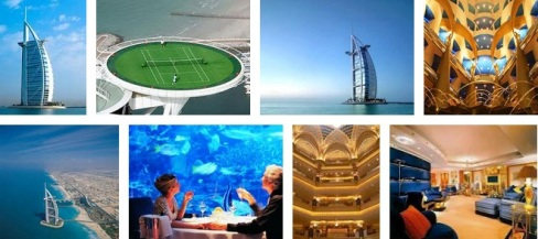 Have a Million Dollars to spare, spend a few night at Burj Al Arab in Dubai for a lifetime experience