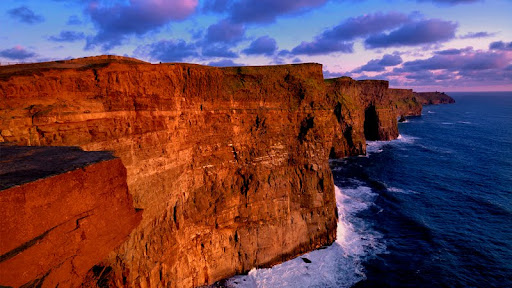 Sunset at the Cliffs of Moher, Ireland.jpg