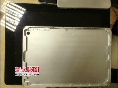 iPadMiniのリアシェルパーツ