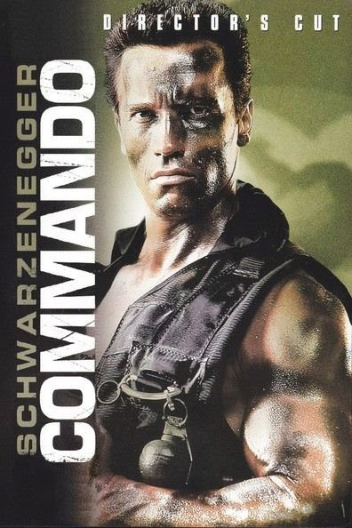 Poster Of Commando (1985) Full Movie Hindi Dubbed Free Download Watch Online At alldownloads4u.com