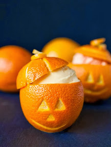 oranges lanterne halloween
