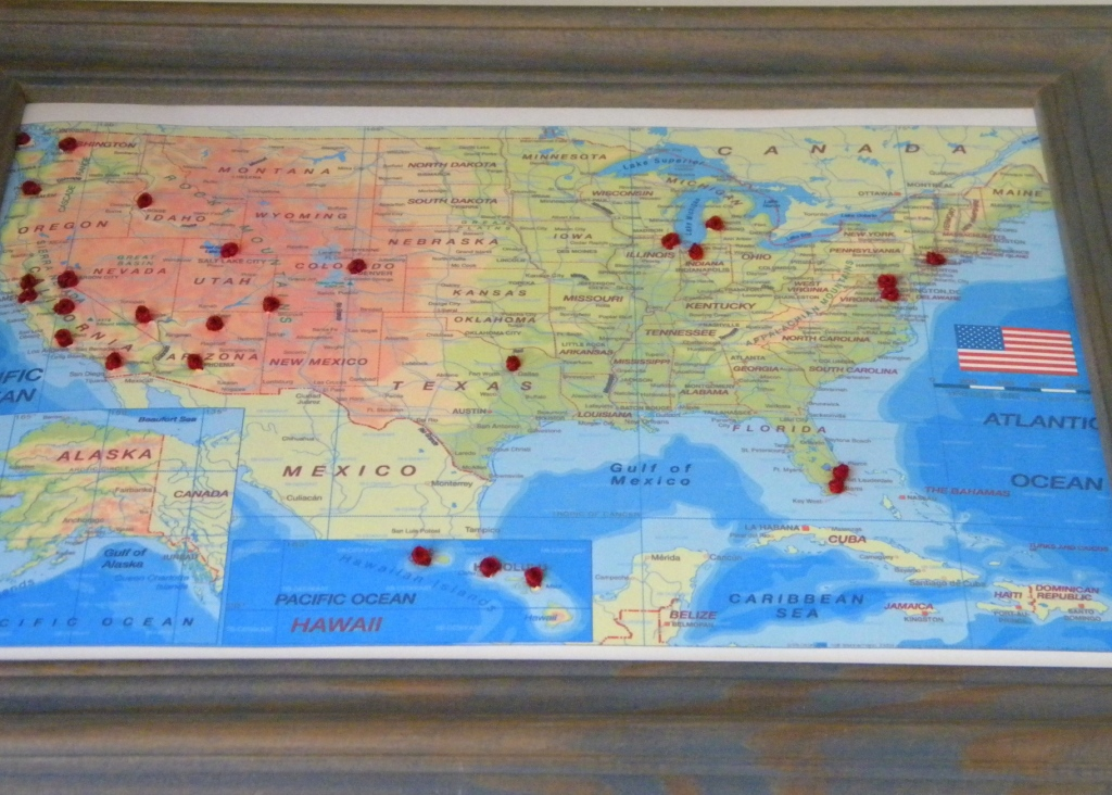 Us Map Track States Visited - Create map of countries visited