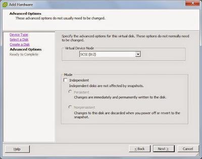 Intentar crear un disco duro nuevo de más de 4TB desde VMware vSphere Client