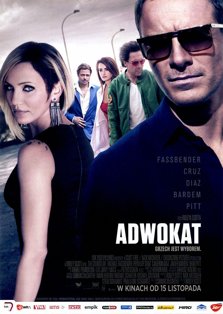 Ulotka filmu 'Adwokat (przód)'