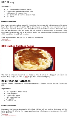 how to cook kfc gravy