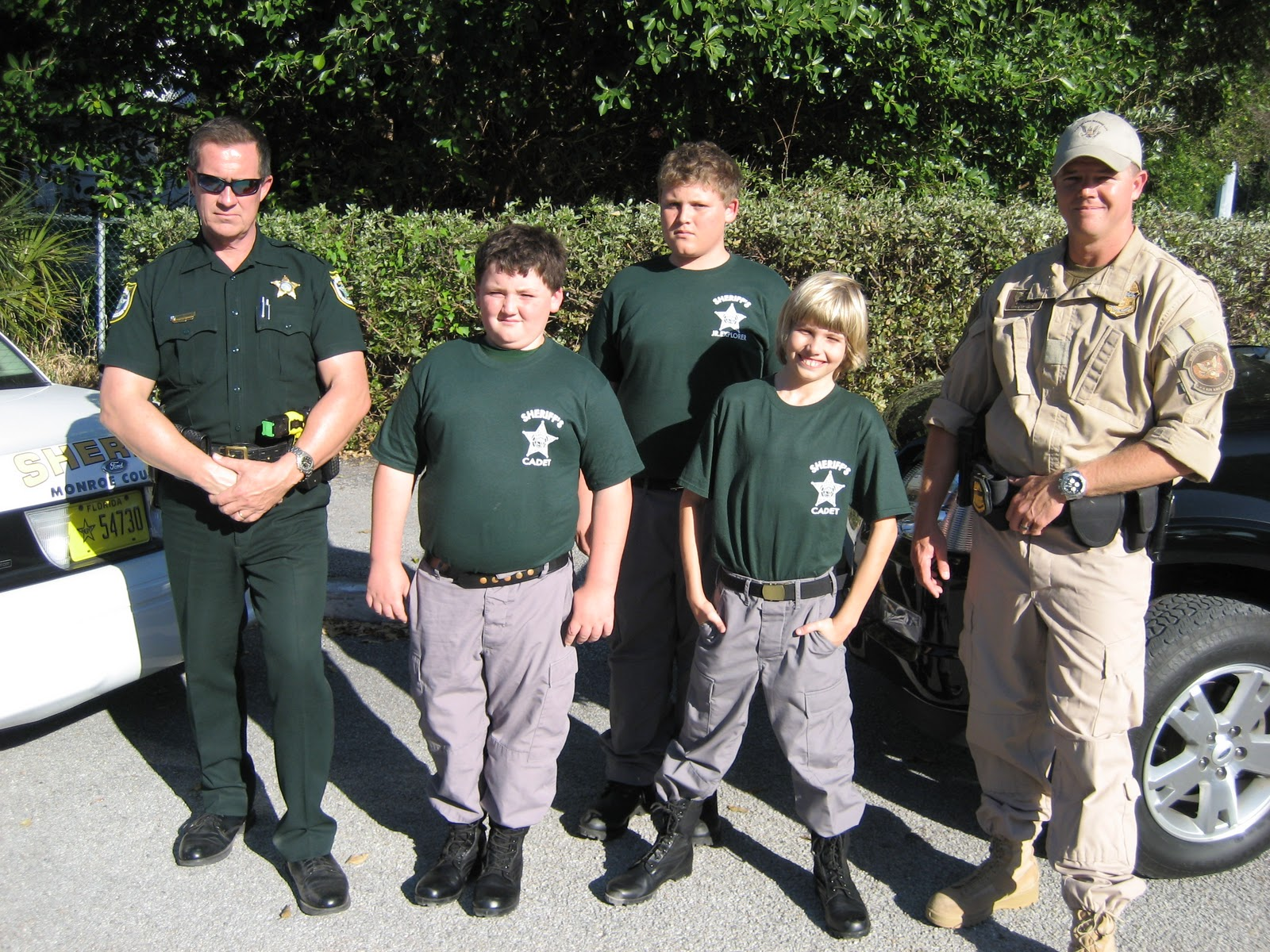 Monroe County Sheriff S Office Cadets And Explorers Learn