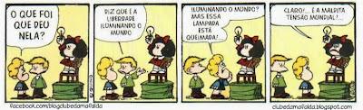 Clube da Mafalda:  Tirinha 711