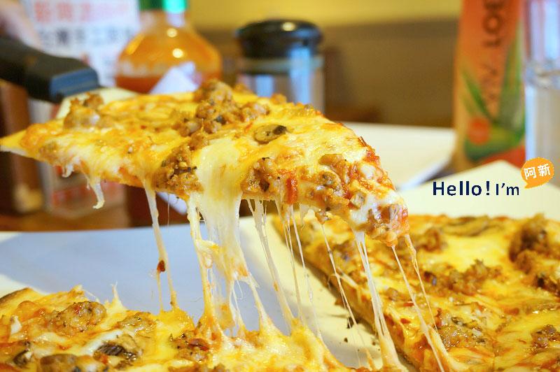 DSC05229 - PIZZA ROCK 搖滾披薩-精誠店|享受加拿大主廚帶來的披薩饗宴,薄脆餅皮,口味稍重。
