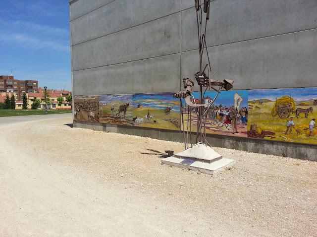mural de Pascual Aranda, homenaje a Valladolid años 60