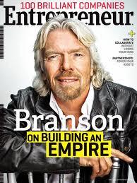 Ричард Бренсон - яркий пример предпринимателя с правильным мышлением