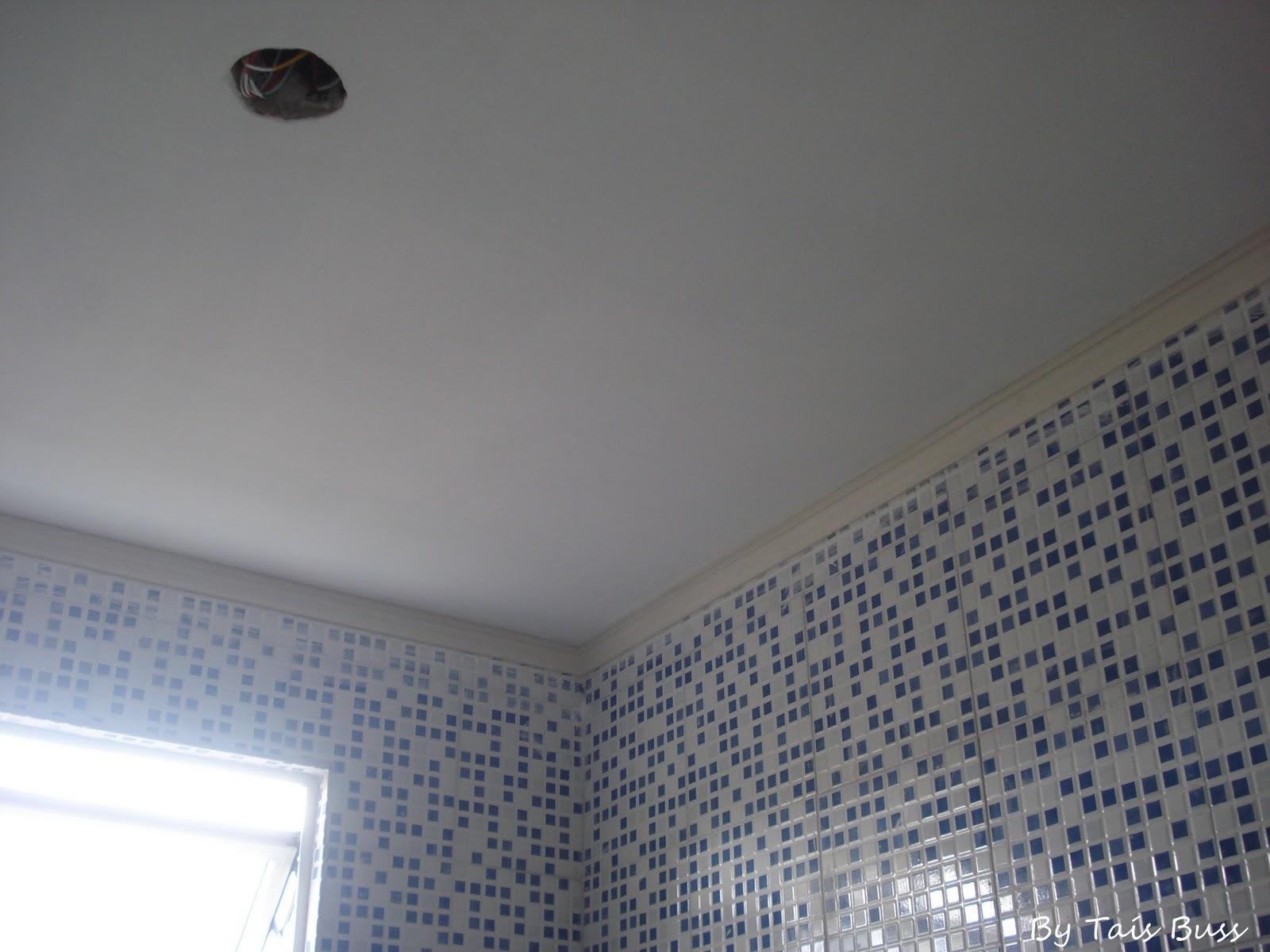 decoracao gesso banheiro:Perfeito Jardim !: Gesso (concluído) e  #50617B 1600 1200