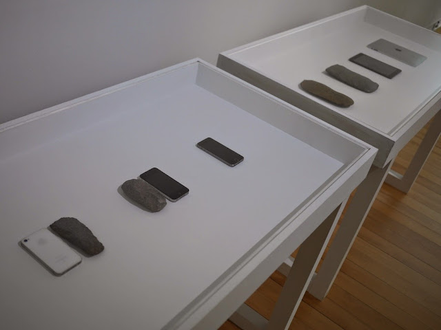 Mobile Phone and Stone Tool — Shimabuku (Japan)