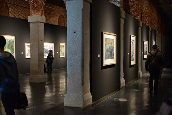 Las imágenes de Ouka Leele sobre Asturias, en el Centro Cultural Conde Duque