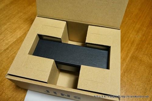 箱の中のメガネケース