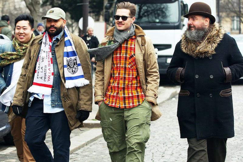 *Paris Fashion Week Fall/Winter 2013 Street Style:Nam巴黎時裝週街拍! 6