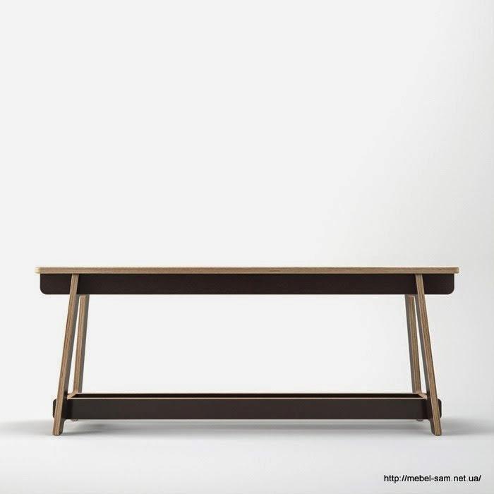 Интересная мебель из фанеры 179