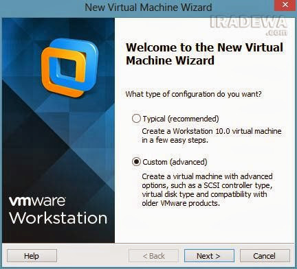 install android di PC via VMware