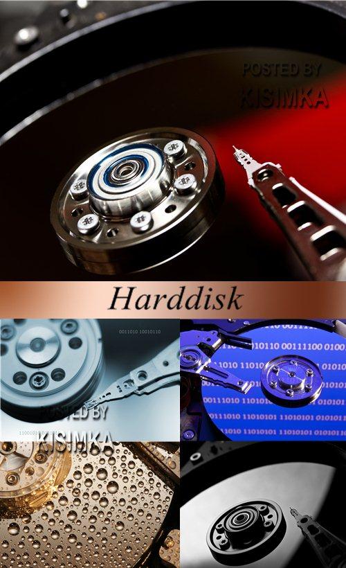 Stock Photo: Harddisk