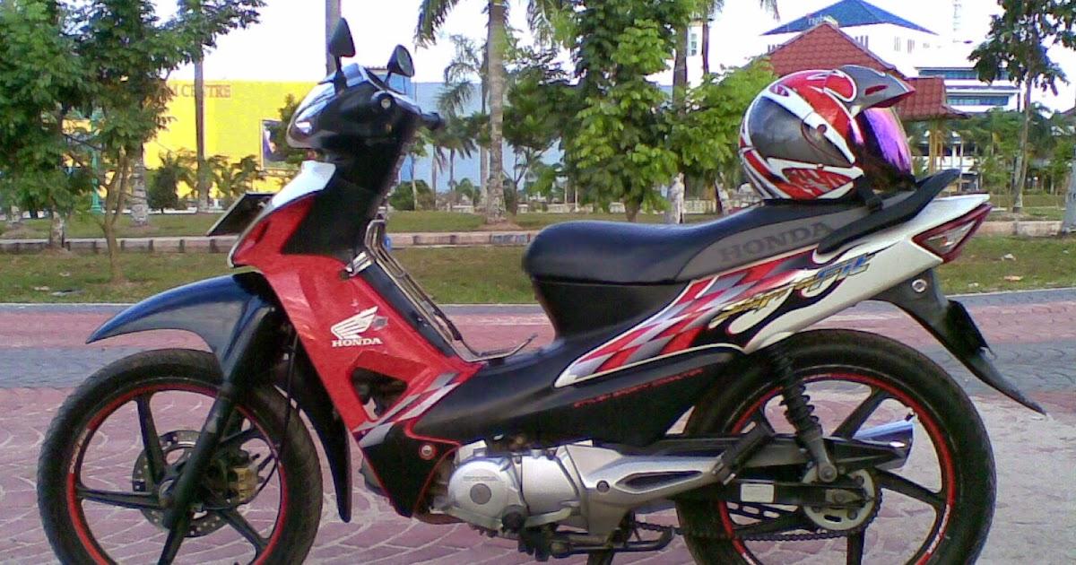 Motor Supra Fit Modifikasi Drag