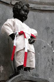 Manneken Pis Judoca