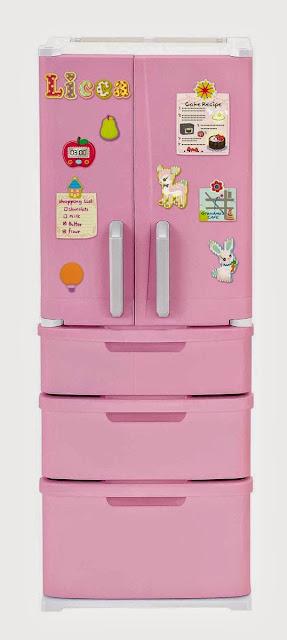 Tủ lạnh dành cho búp bê Licca
