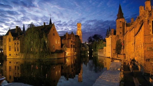 Brujas, ciudad romántica