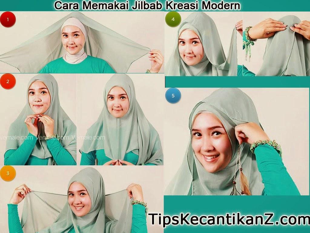 Tutorial Hijab Segi Empat Modern Untuk Kebaya Tutorial Hijab