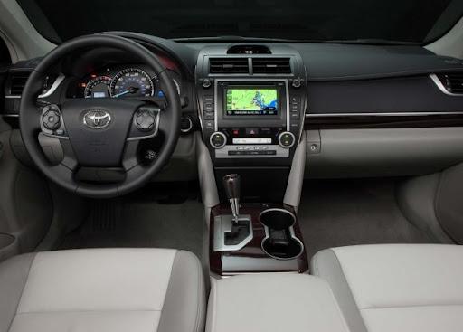 interior Imagens Novo Toyota Camry 2012