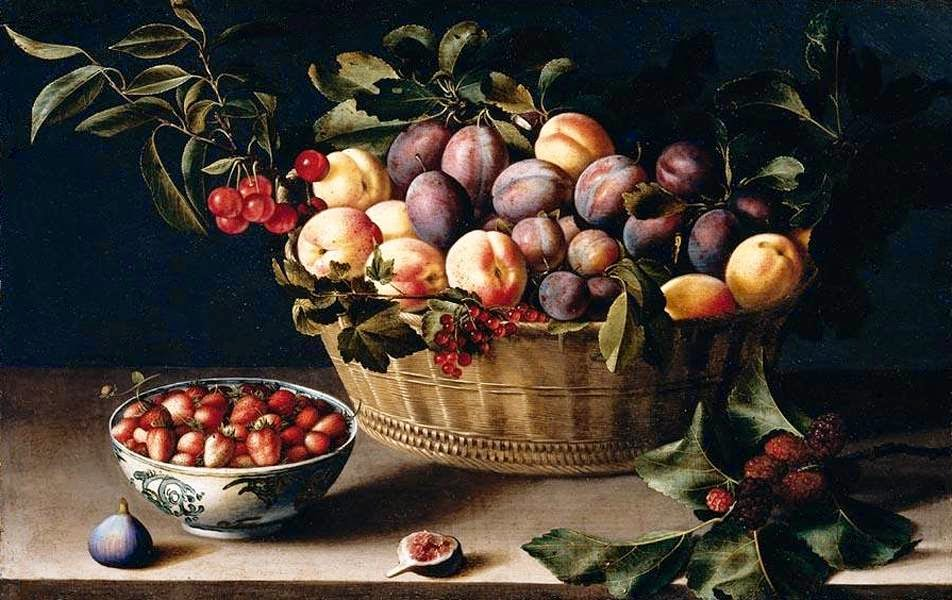 Louise Moillon - Still-Life with a Basket of Fruit