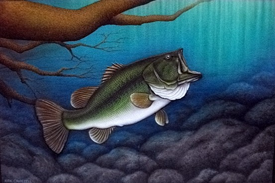 """On the Move"" by Artist Kirk Cawiezell. Sand painting. $7000.00"