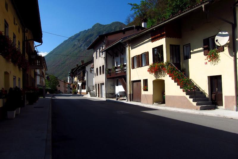 Kobarid main street