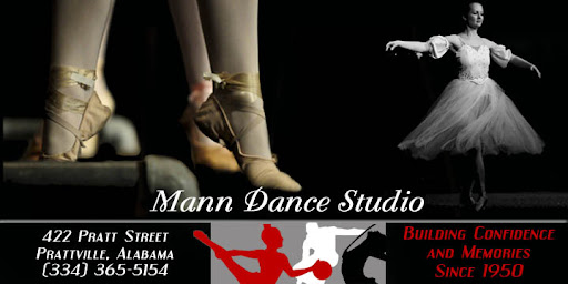mann dance studio in prattville, alabama