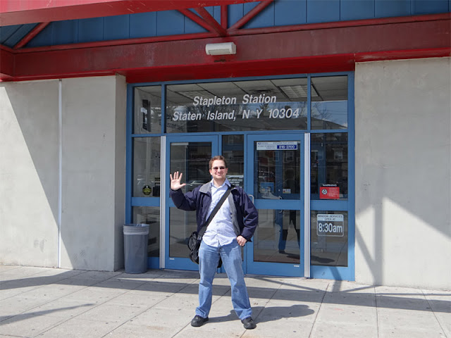 Evan Kalish visits his 5,000th post office.