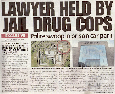 ... arrest of 'Fettesgate' lawyer David Blair Wilson amid fears of new
