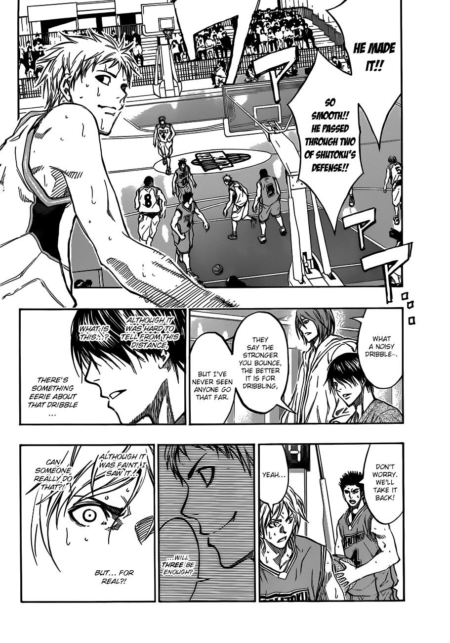 Kuroko no Basket Manga Chapter 177 - Image 08