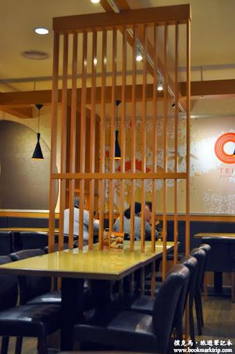 定食8餐廳內部一隅